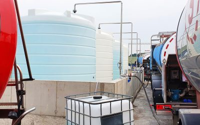 Emissco adds 120,000 litre AdBlue tank farm to its fluid packaging plant
